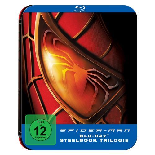 [Amazon] Spiderman 1-3 Steelbook (Blu-Ray) für 20,99 Euro versandkostenfrei