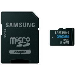 Samsung Micro SDHC Karte 32GB Class10 + 20 MP3-Songs gratis