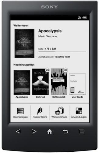 """Sony PRST"""" Ebook Reader nur 99 € bei ebook für 99 €"""