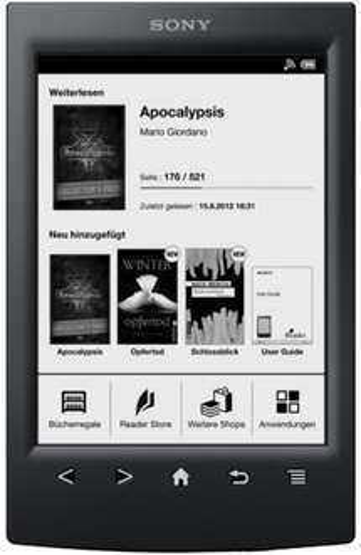 Sony PRST2 Ebook Reader nur 99 € bei ebook für 99 €