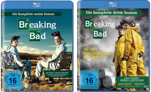 [Blu-ray] [Wieder verfügbar] Breaking Bad Staffel 2+3 zusammen nur 28,98 € @Conrad