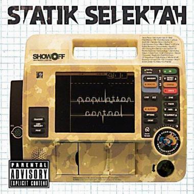 Statik Selektah - Population Control - Underground Hiphop aus den Staaten zum kleinen Preis