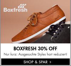 Boxfresh SALE bei Frontline -30%