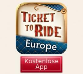 Ticket to Ride Poket - Europe kostenlos für iPhone im AppStore - nur heute!
