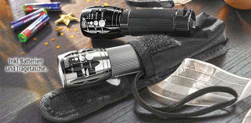 5 Watt CREE LED Taschenlampe bei Aldi Süd ab 22.11