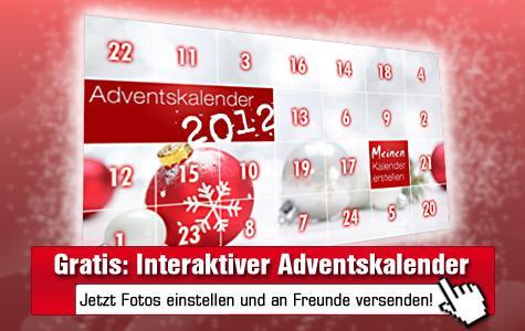 COMPUTER BILD-Aktion:  Gratis Online-Adventskalender mit Fotos befüllen und an Freunde senden!
