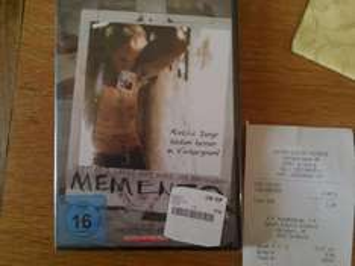 Memento (DVD) für 2,99 €! (Lokal Saturn Duisburg)