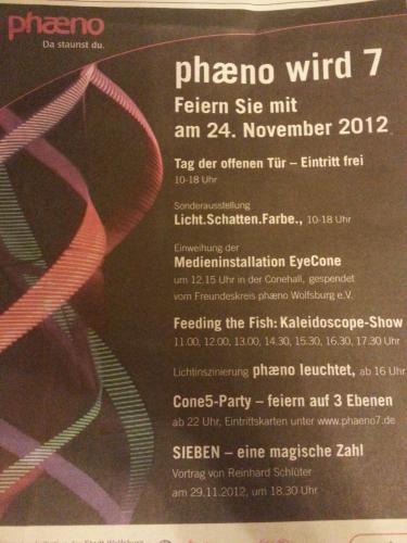 Kostenloser Eintritt im phaeno Wolfsburg am 24.11.