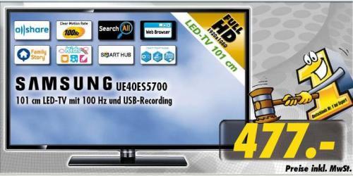 Samsung UE40ES5700 477€ [TECHNOLAND]