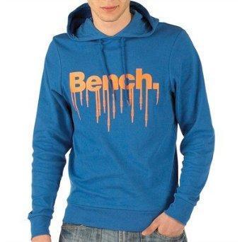 Bench Mens Elementary Hoody Olympian Blue