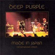 (UK) Deep Purple - Made In Japan (25th Anniversary Edition) [2 x CD, Original Recording Remastered] für 4.47€ @ play (Zoverstocks)