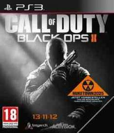 Call of Duty Black Ops 2 - [UK uncut ] PS3 inkl. Nuketown  für 43,99 euro