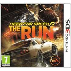 Nintendo 3DS - Need for Speed: The Run für €9,92 [@Zavvi.com]