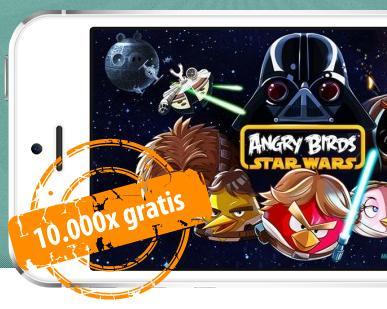 [Vorankündigung] 10.000 Angry Birds: Star Wars kostenlos