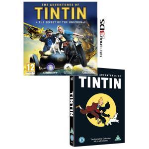 [Zavvi] Tim und Struppi: Das Geheimnis der Einhorn 3DS und The Adventures of Tintin - Complete Collection DVD´s