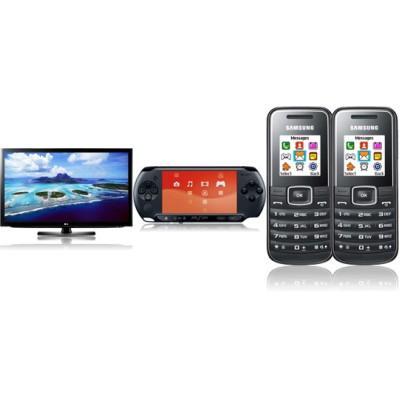 """42"""" LCD-TV LG LK430 + Sony PSP E1000 + E1050 Doppelpack 2x 29,90€ Grundgebühr"""