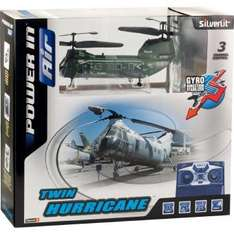 Twin Hurricane 3 Kanal Gyro Helicopter