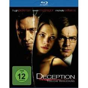 Deception - Tödliche Versuchung [Blu-ray] inkl.VSK für 8,97 € @AMAZON.DE