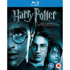 Harry Potter: The Complete 8-Film Collection [Blu-Ray] für 25.28€ @ amazon.co.uk