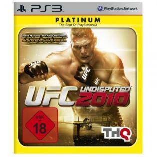 THQ PS3 UFC 2010 Platinum (USK 18) für 5€ + 4,49€ Versand @ Redcoon.de