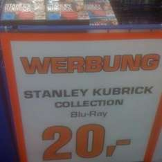 [lokal] Blu-ray: Stanley Kubrick Collection für 20€ bei Saturn Berlin Alexanderplatz