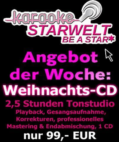 2,5 h Tonstudio - geiles Weihnachtsgeschenk für 99 EUR - Regional