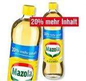 Mazola Keimöl 20% mehr Inhalt 900ml Flasche nur im kaufland
