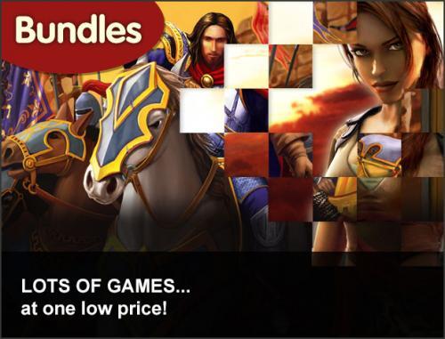 Verschiedene PC Spiele Bundles bei GMG