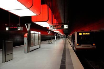 [Hamburg] Kostenlos U-Bahn fahren: mit der U4 von Jungfernstieg bis HafenCity Universität