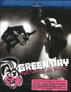 "CD+Blu-Ray - Green Day ""Awesome As Fxxk"" für €6,99 [@Wowhd.de]"