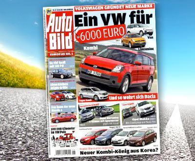 Autobild Abo - 51 Ausgaben für 34,90€ bei Dailydeal - Preis pro Ausgabe 0,68€