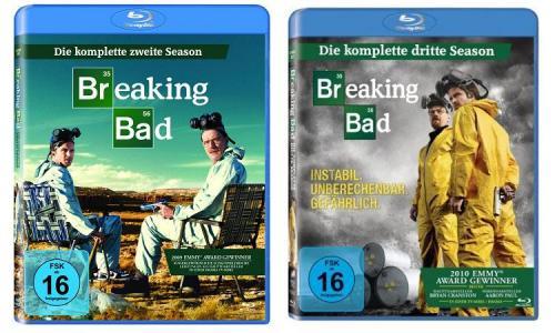 [Blu-ray] [noch billiger] Breaking Bad Staffel 2+3 zusammen nur 27,46 € @digitalo