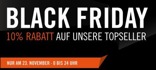 Cyberport - Black Friday mit 10% Rabatt