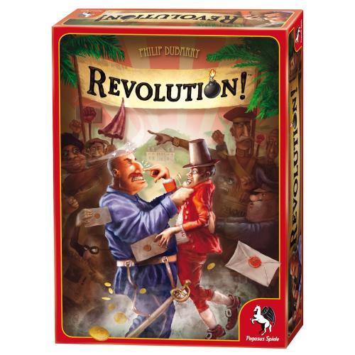 Pegasus Spiele - Revolution! 14,49€ / Es geht seinen Gang 8,95€ (wie Spiel des Lebens für Ostalkiger) / Funkenschlag 22,99€ / Funkenschlag - Die ersten Funken 22,29€