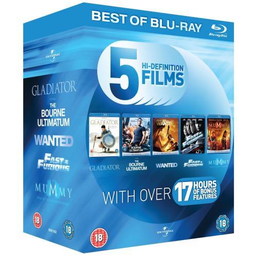 (UK) Blu-ray Action Starter Pack [6 x Blu-rays] für umgerechnet ca. 15.49€ (durch Code ggf günstiger) inkl.VSK @ Zavvi