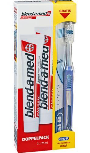 (offline) Kaufland: 2x 0.75ml blend-a-med zahncreme inkl. oral-B Zahnbürste