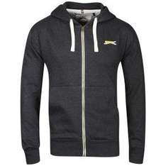 Slazenger Men's Full Zip Hoody - Charcoal