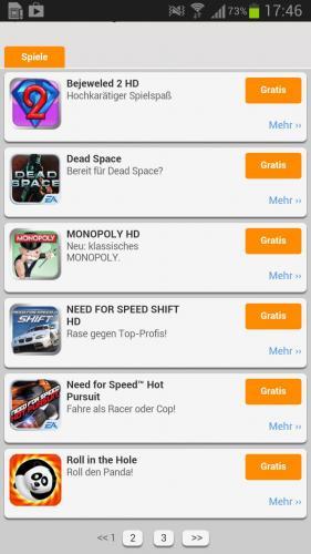Spiele-Demos für Android von EA (u.A. Dead Space, Monopoly HD uvm.)