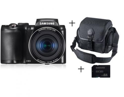 SAMSUNG EC-WB100 Digitalkamera Set mit Tasche auf Mein Paket - AUSVERKAUFT