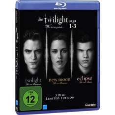 [Blu-ray] Die Twilight Saga 1-3 nur 6 € @Saturn Late Night Shopping