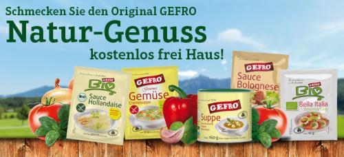 5 GEFRO Produkte für umsonst einsacken! :)