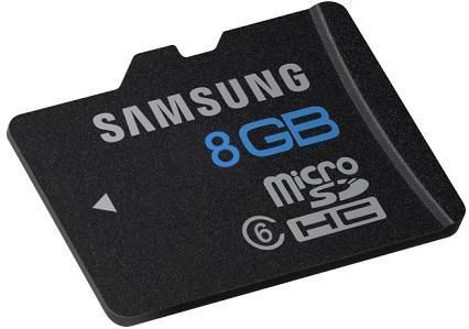 Samsung 8GB Micro SDHC inkl. Versand für nur 5,20 EUR