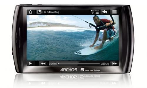"""Archos 5 4,8 Zoll 8 GB WiFi """"Mediatablet"""" @ Ebay WOW für 55,00 EUR"""