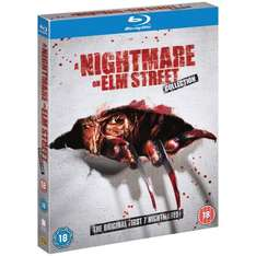 Blu-Ray - Nightmare On Elm Street 1-7 (5 Discs) für €24,25 [@Amazon.co.uk]