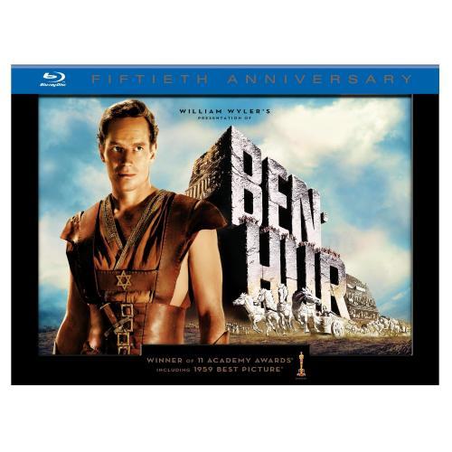 Für Sammler - [BluRay] Ben Hur 50th Anniversary Ultimate Collector's Edition @ amazon.com
