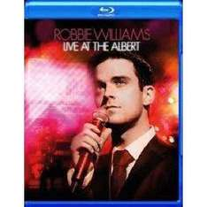 Bluray - Robbie Williams - Live at the Albert - Amazon.de 10,99 Euro