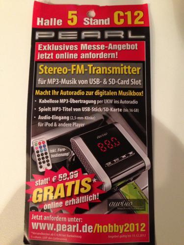 Pearl Stereo-FM-Transmitter