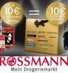 MONTAG letzte Chance: Beautywochen - mit neuer Rossmann Werbung kombinieren!
