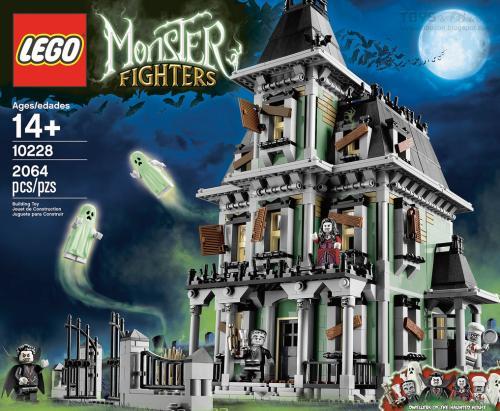 [Lego Online] Gute Deals durch Black Friday Angebote ab 125€ zB. Große Geisterhaus
