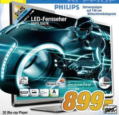 Philips 55PFL5507K bei Fegro / Selgros 899€ + MWST.